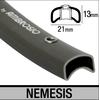 "Velg 28"" Ambrosio TUBE 32g Nemesis antra."