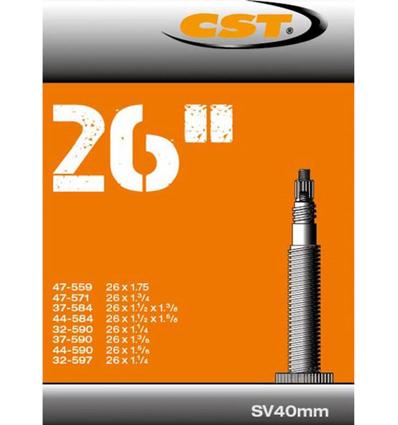 Binnenband 26X11/4-13/8-175 CST SV (40)