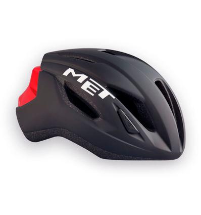 MET helm Strale 52-58 zw/rd