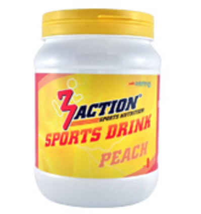 3Action SPORTS DRINK PEACH 500GR
