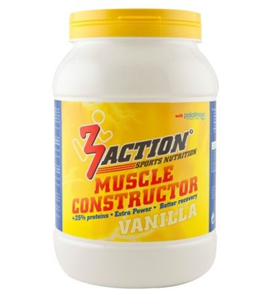 3Action MUSCLE CONSTRUCTOR 500GR VANILLA