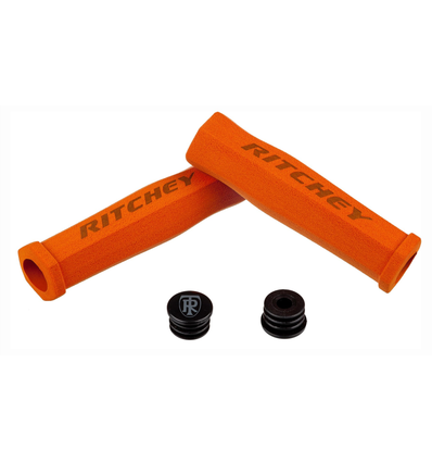 Ritchey WCS Trugrip Griff, 130/31.2-34.5mm, orange