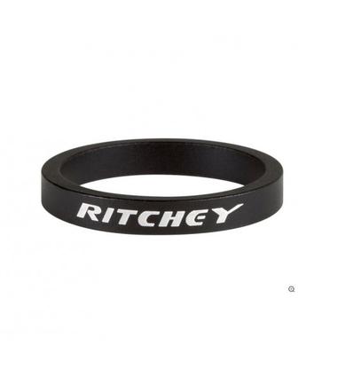 Ritchey Spacer, 1 1/8/28.6, 5mm, 10 Stk., bb black