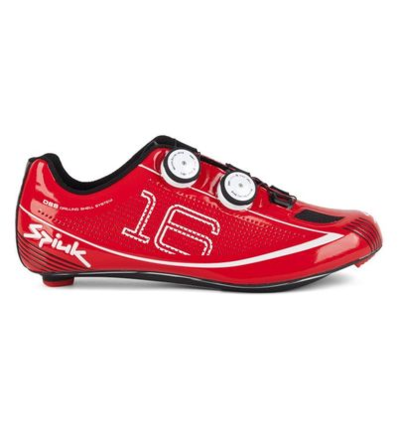 SPIUK SHOES 16RC ROAD CARBON RED 44