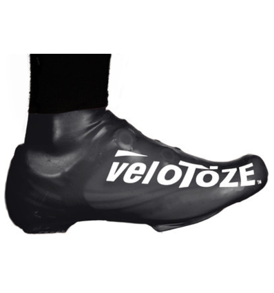 Velotoze Short Shoe-Cover Latex Black