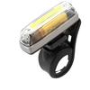IKZI koplamp Straight 25, Hi-Tech COB-LED USB oplaadbaar, grijs