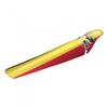 Velox spatbord zwart-geel-rood (ass saver) Belgie