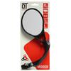 QT Spiegel Alu Links anti-reflecterend Speedbike