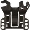 Adaptor achterlicht zadelbrug Herrmans 50mm, zwart, p/stuk