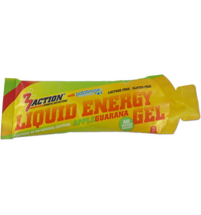 3ACTION LIQUID ENERGY GEL APPLE 55ML