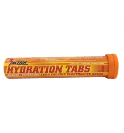 3Action hydration tabs orange